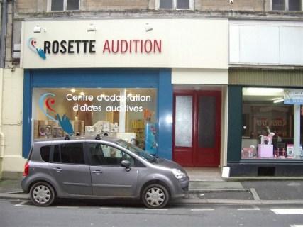 Enseigne-Vitrine-Rosette-Audition-Valognes