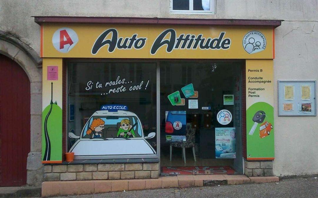 Enseigne Auto Attitude