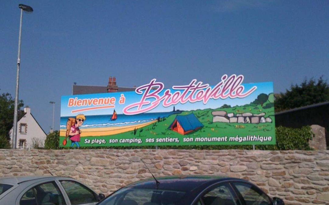 Enseigne – Ville de Bretteville