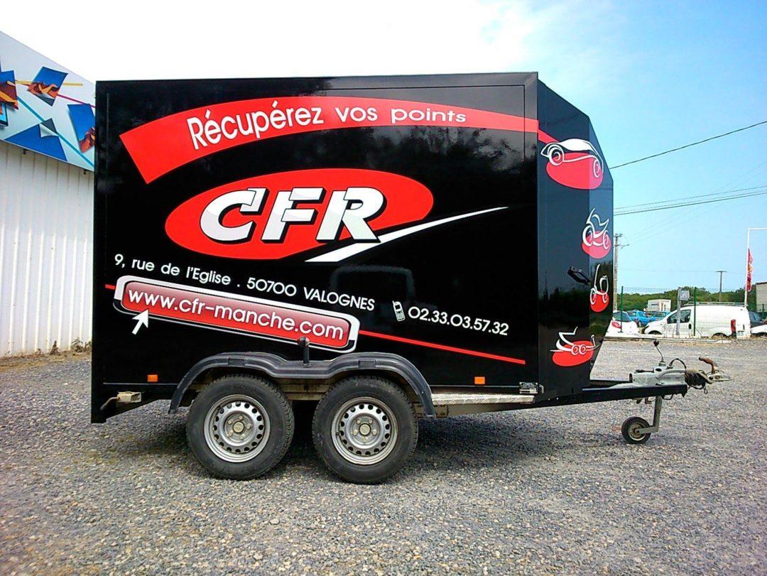 Marquage véhicule CFR