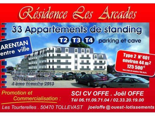 Panneau publicitaire agence immobilière – Tollevast