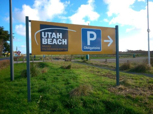Panneau – Utah Beach