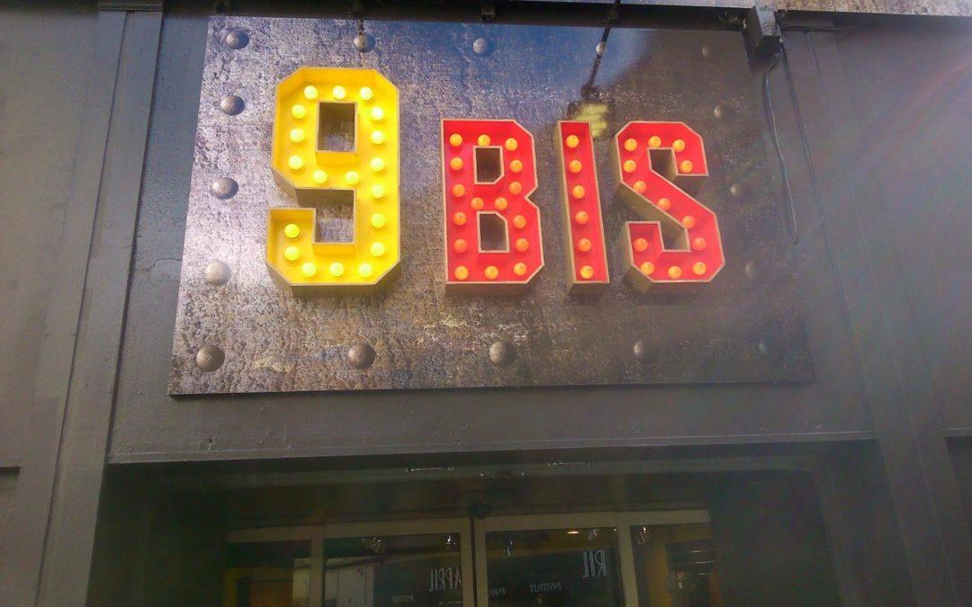 Enseigne 9 Bis – Cherbourg en Cotentin