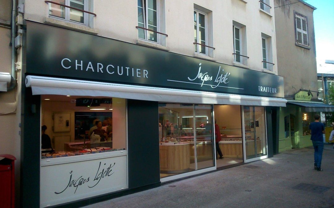 Vitrine Traiteur Lejetté – Cherbourg en Cotentin
